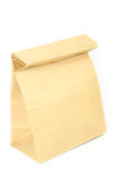 Paper bag on white Royalty Free Stock Images