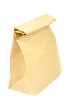Paper bag on white Royalty Free Stock Image