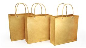 Paper bags Stock Images