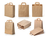 Paper bags Stock Photography