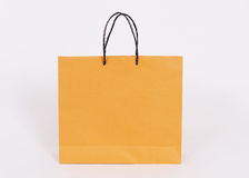 Paper bags isolated on white background Royalty Free Stock Photos