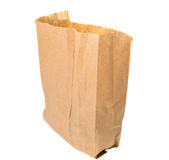 Paper bags isolated Royalty Free Stock Photography