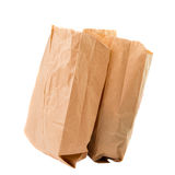 Paper bags isolated Stock Photography