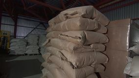 Paper bags in stock. HD stock video