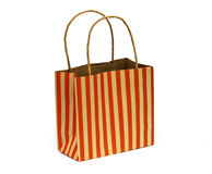 Paper bags on white background Royalty Free Stock Image