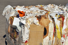 Paper bales Stock Image