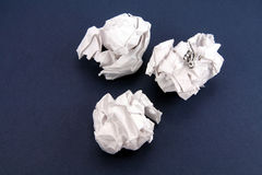 Paper ball Royalty Free Stock Photography