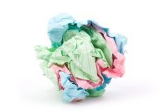 Paper ball royalty free stock photos