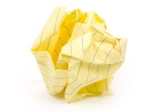 Paper ball Royalty Free Stock Images
