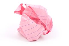 Paper ball Royalty Free Stock Image