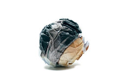 Paper ball object Royalty Free Stock Photography