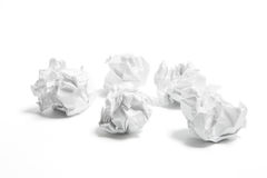 Paper Balls Royalty Free Stock Images