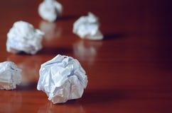 Paper Balls Stock Photo