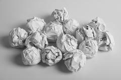 Paper Balls Stock Photography