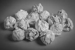 Paper Balls Royalty Free Stock Image