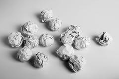 Paper Balls Royalty Free Stock Image