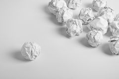 Paper Balls Stock Photography