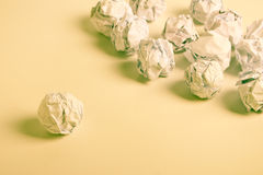 Paper Balls Stock Images