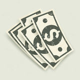 Paper bank notes Royalty Free Stock Photo