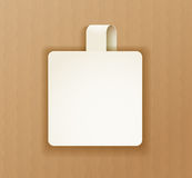 Paper banner Royalty Free Stock Photo