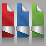 Paper Banners Royalty Free Stock Photography