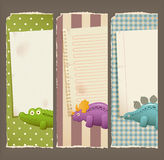 Paper, banners & toys vector illustration