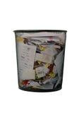 Paper basket Stock Images