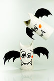 Paper bats for halloween Royalty Free Stock Photos