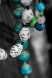 Paper beads necklaces Royalty Free Stock Images