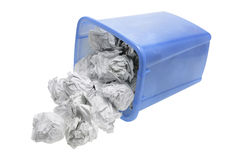 Paper Bin Royalty Free Stock Photos