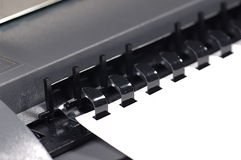 Paper Binder stock images