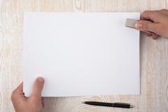 Paper binding Royalty Free Stock Image