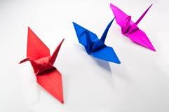 Paper bird Stock Image