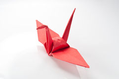 Paper bird Royalty Free Stock Photography