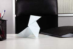Paper bird Stock Photography