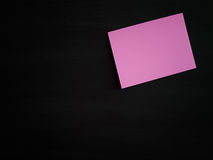 The paper on the blackboard, Royalty Free Stock Image