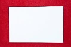 Paper blank Stock Photos