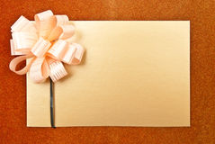 Paper blank Royalty Free Stock Image