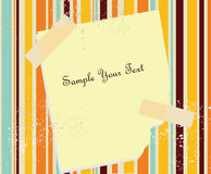 Paper blank Royalty Free Stock Photos