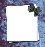 Paper blank Stock Image