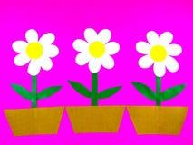 Paper blomma Arkivfoton