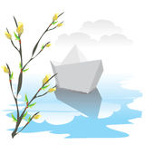 Paper_boat Royalty Free Stock Photo