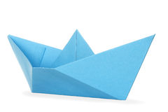 Paper boat Royalty Free Stock Photos