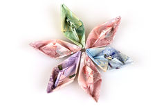 Paper Boat. Royalty Free Stock Photography