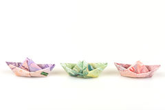 Paper Boat. Stock Images