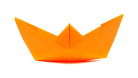 Paper boat Royalty Free Stock Photography