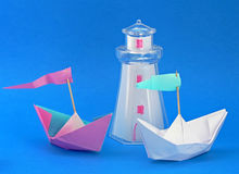 Free Paper Boats Stock Photos - 6676143