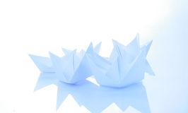 Paper boats Royalty Free Stock Image