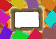 Paper border Stock Images