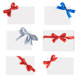 Paper with a bow Stock Photography